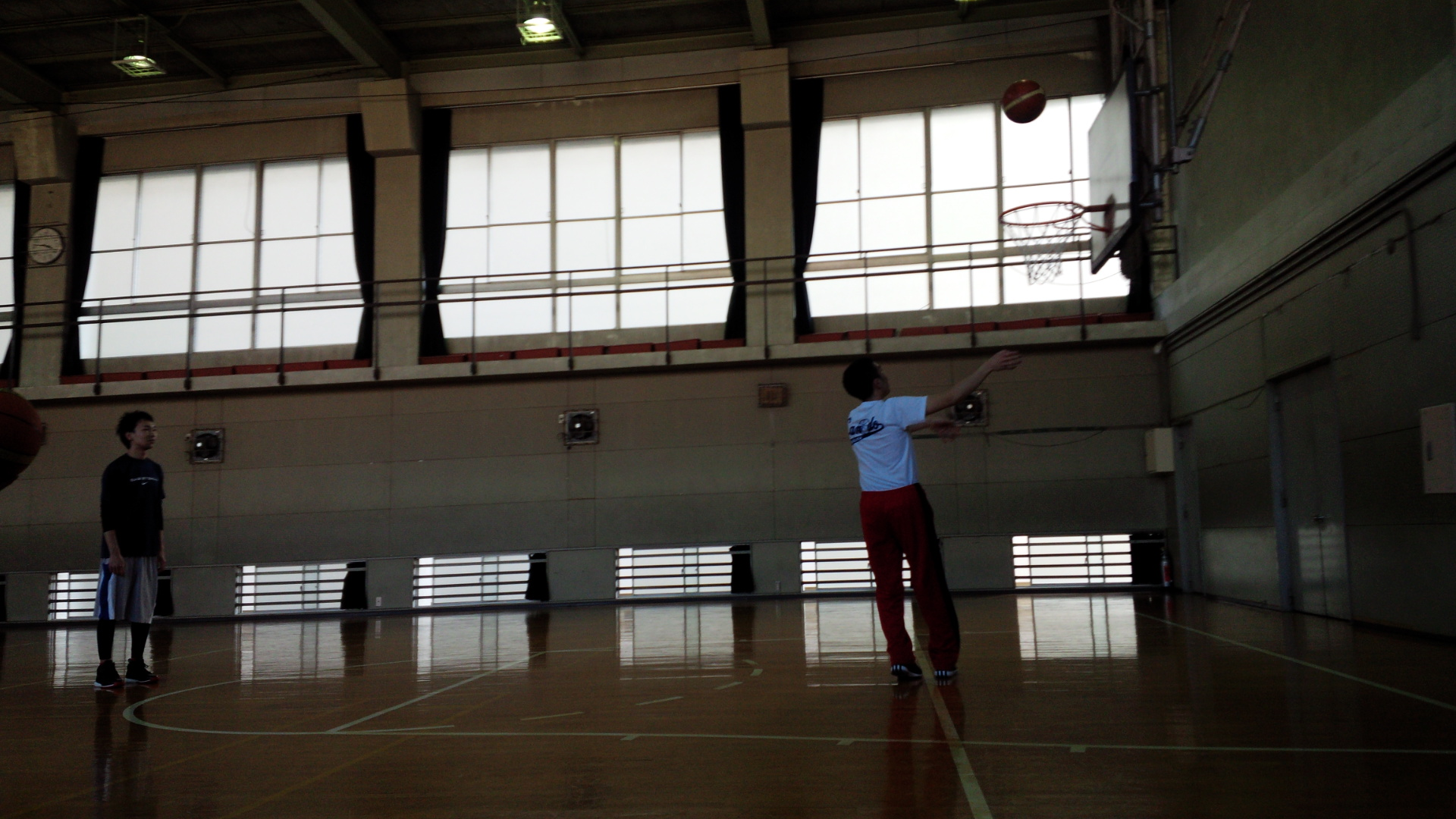 SONバスケ練習28.3月②