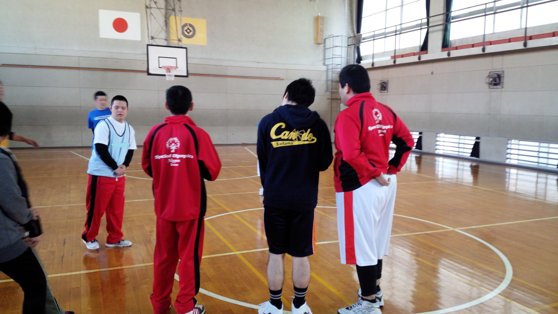 SONバスケ練習28.3月①