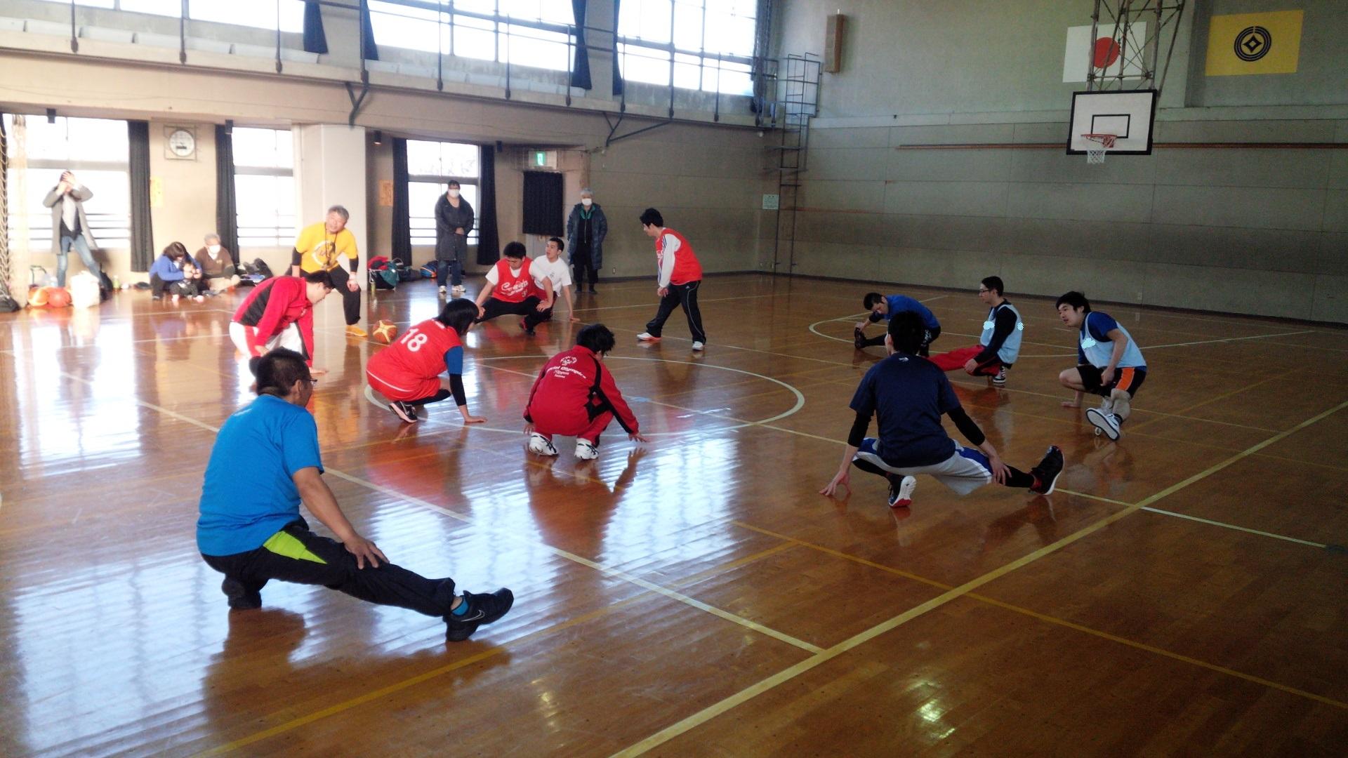 SONバスケ練習28.3月⑧