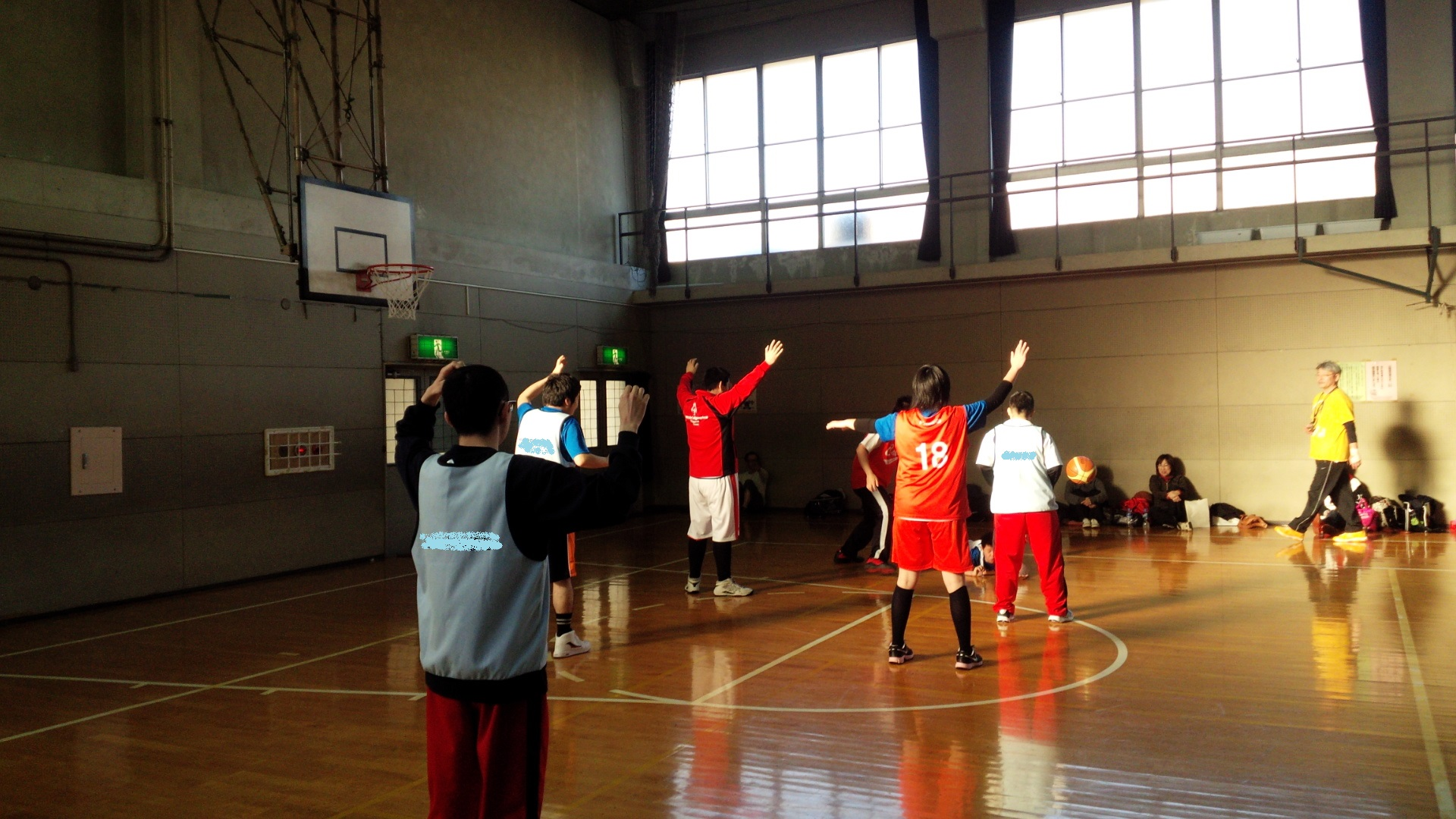 SONバスケ練習28.3月⑦