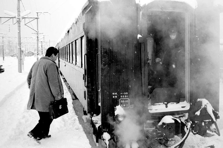 磐越西線 喜多方駅のホーム2 198年月 日 16bitAdobeRGB原版 take1b