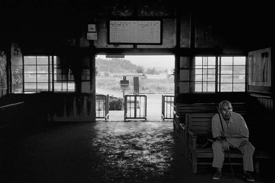 吉都線 加久藤駅 夏11988年7月 原版 take2b3