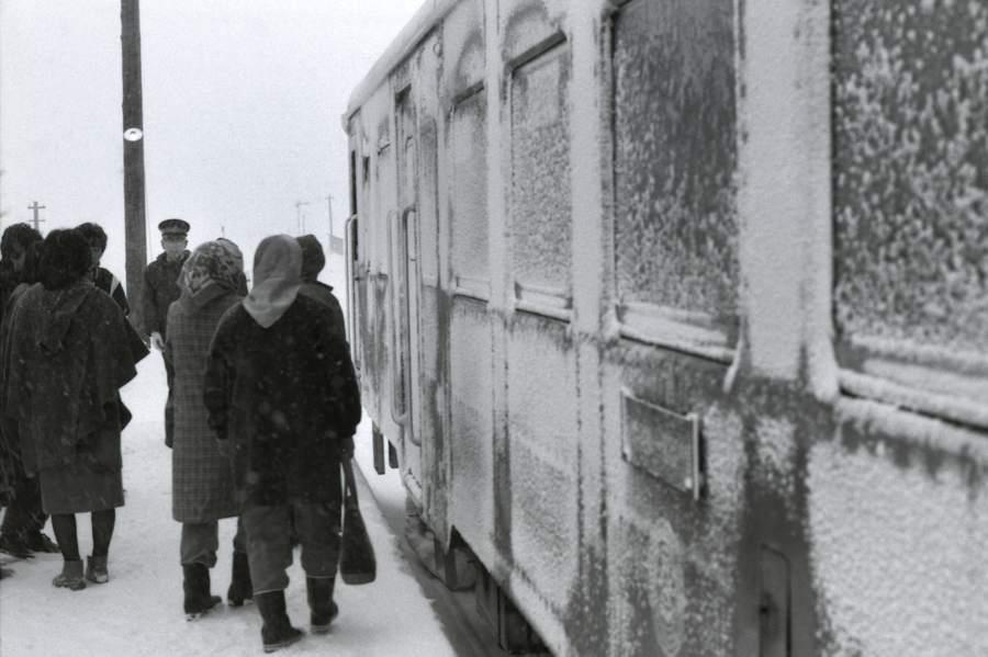 津軽鉄道 金木駅15 1984年1月 X970 AdobeRGB 16bit 原版take1b
