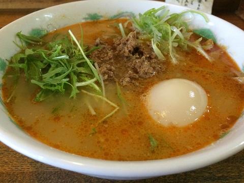 ピリ辛タンタン麺2
