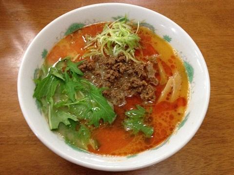 ピリ辛坦々麺