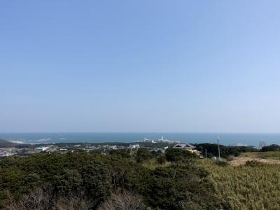 地球の丸く見える丘