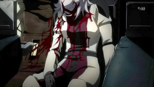24 アジ― 流血 グッタリ