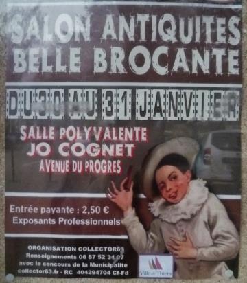 冬のフランス骨董市巡り (1)