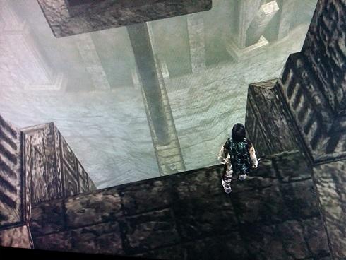 下にある橋の支え