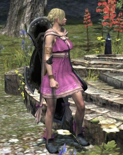 ピンク衣装のポーン