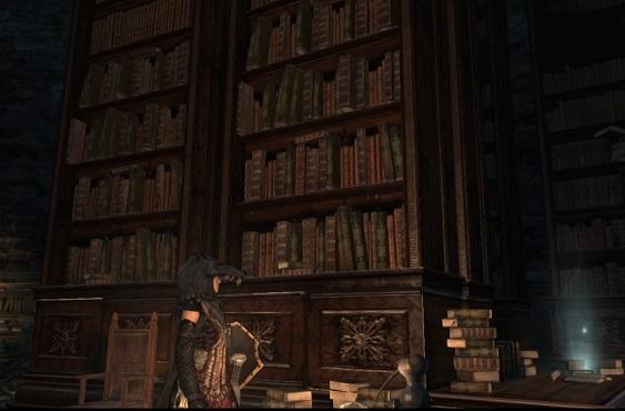 メルゴダ護政区内の書庫