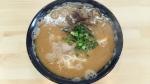 麺心新井 豚骨ラーメン 16.3.13