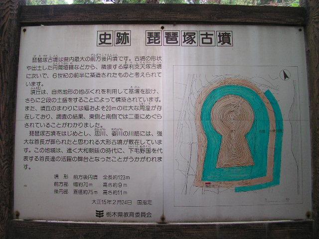 琵琶塚古墳C