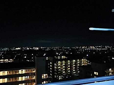 我が家からの夜景
