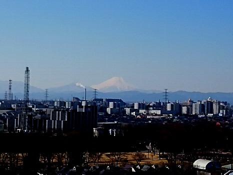 霊峰富士冬