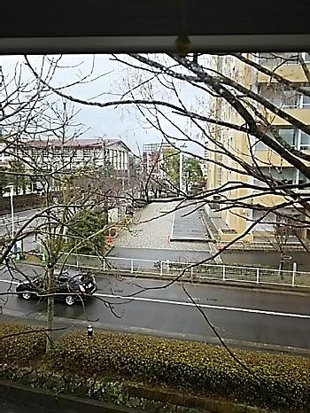 諫早図書館からの眺め