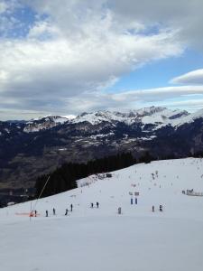 初スキー2016