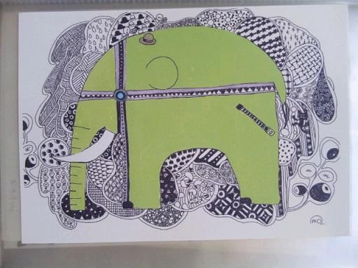 ももふくふく ゾウ