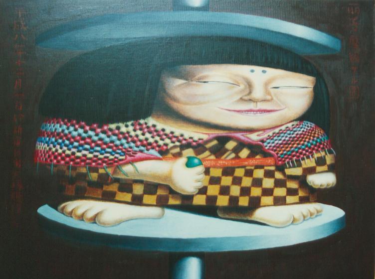 麗子プレスさる像 1981 1997(再版制作)