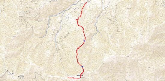山20160207銀杏峰