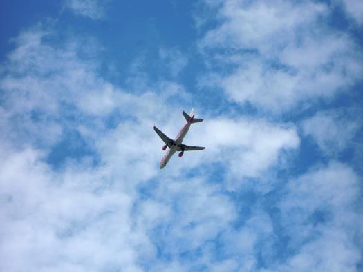 FDAの飛行機。