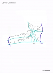 Geverey-Chambertin白地図jpg