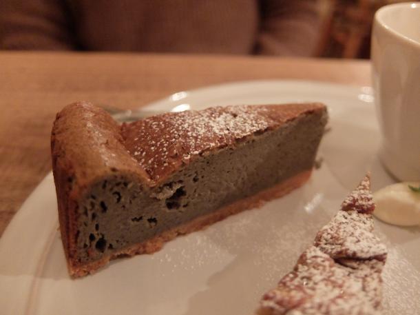 黒ゴマの豆乳チーズケーキ