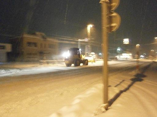 大雪の夜1
