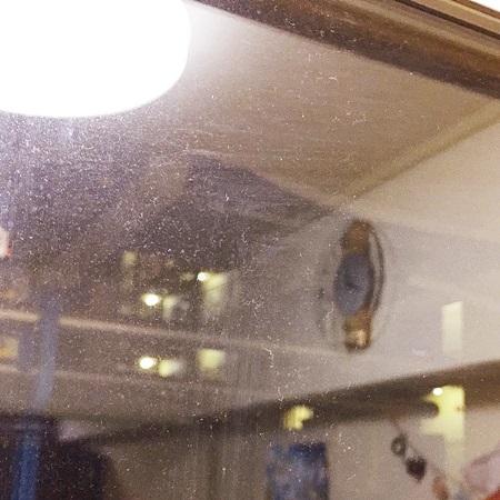 窓ガラス掃除前