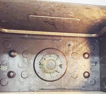 電子レンジ 天井