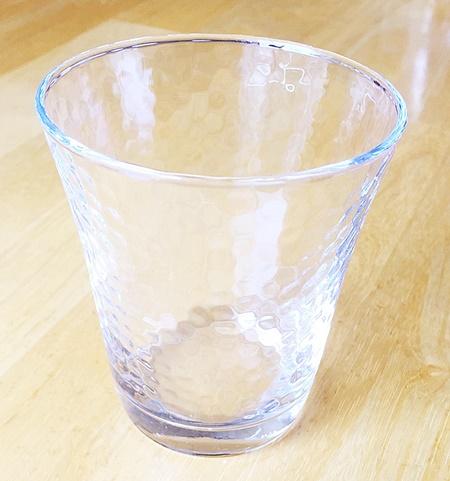 ガラスコップ1個
