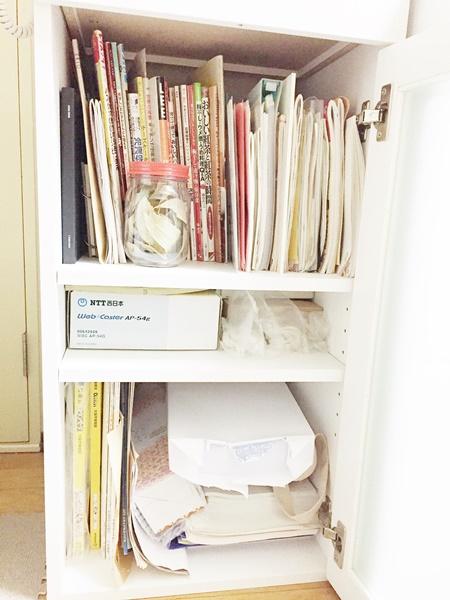 キッチン収納棚ビフォー画像