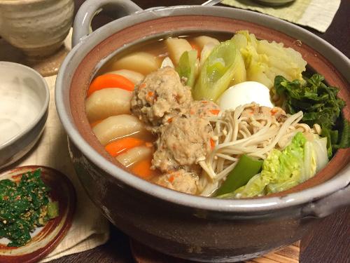 Jan18_鶏つみれ鍋