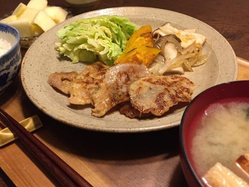 Feb02_豚肉の粕漬け