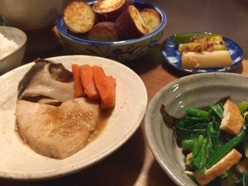 Feb15_かじきまぐろの生姜煮