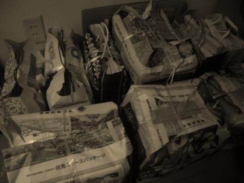 リサイクル(古紙)
