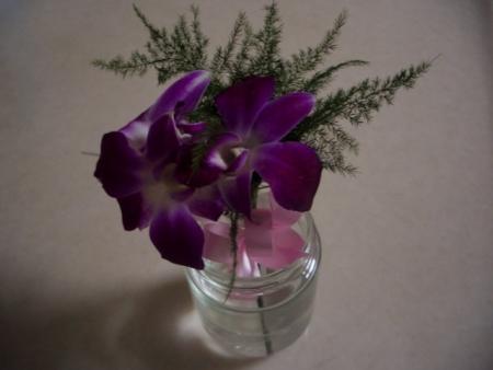 卒業式の花