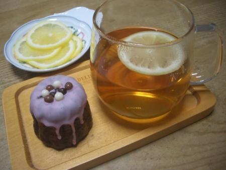 檸檬(紅茶&カヌレ)
