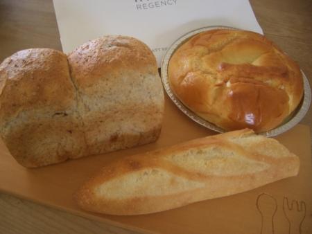 ホテルのパン
