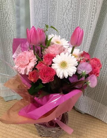お花、ありがとう~