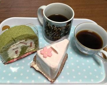 ケーキで、お茶しよっ