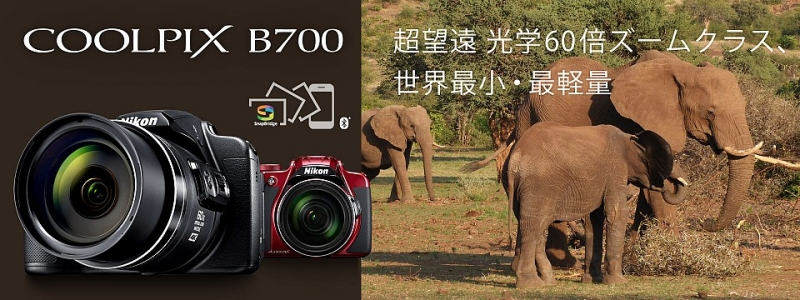 Nikon B700 banner