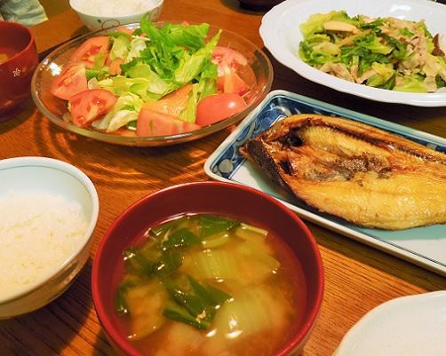 20151216晩御飯