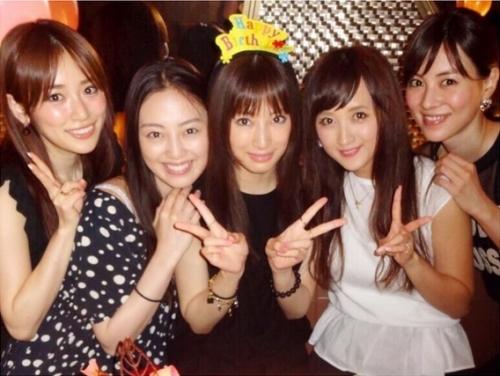 """北川景子の誕生日に""""セーラー戦士""""が集結「もうこの5人に言葉はいりません」"""