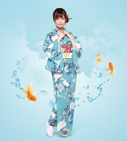 島崎遥香、松竹カレンダー2016に登場して話題に 和服姿に「着物姿も天使やね」の声