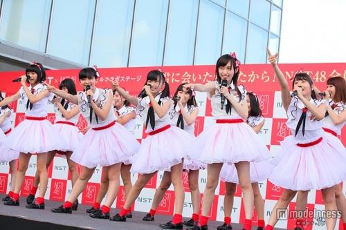 NGT48、地元で全26人集結ライブ アクロバット・ダンスも披露