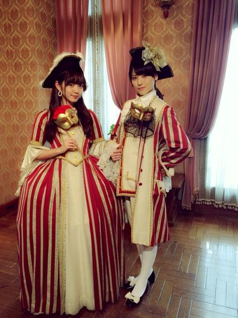 矢島舞美さんと鈴木愛理さんのおもしろいコスプレ画像きたぞ