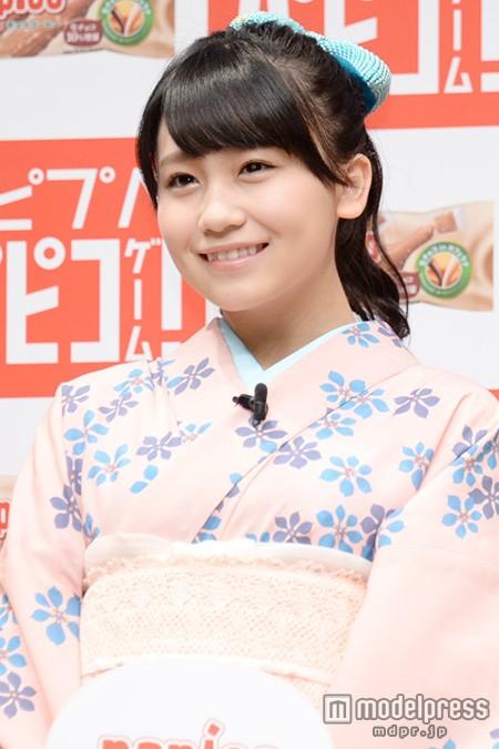小嶋真子、将来の目標は柏木由紀 「清楚なお姉さんみたいになりたい」