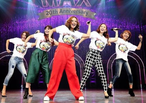 MAX、20周年ライブで一夜限りの5人体制 完全ジャンボMAX
