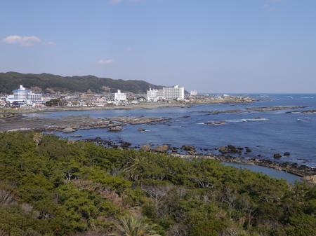 野島崎から東方面